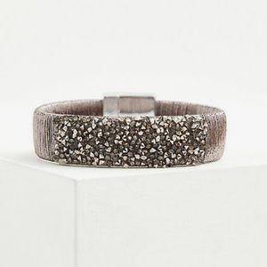 🆕 Torrid Silver-Tone Magnetic Bracelet Christmas